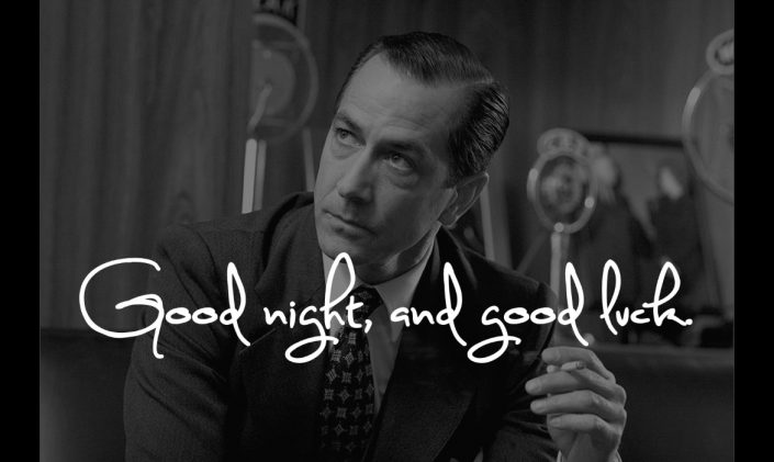 David Strathairn as Edward R. Murrow in Good Night and Good Luck © Warner Independent Pictures