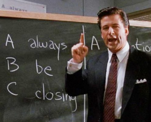 ABC always be closing Alec Baldwin Glengarry Glen Ross