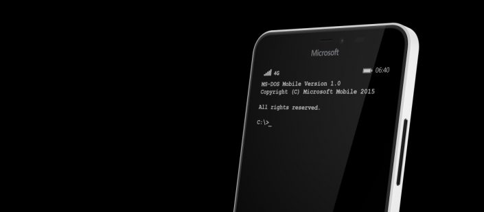 microsoft ms-dos for mobile 01 april 2015